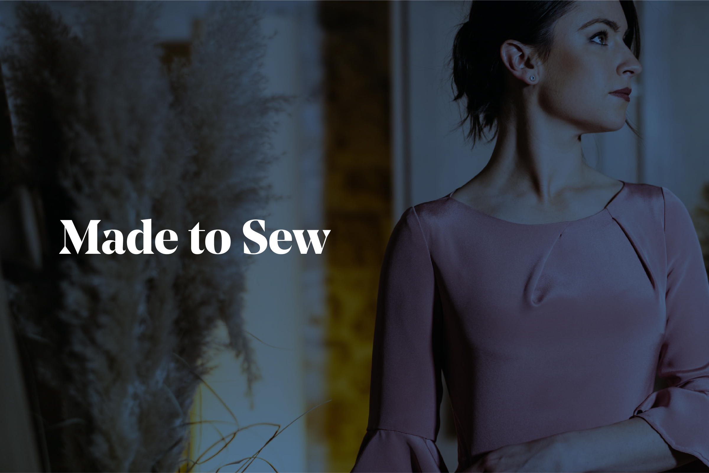 Example of branding design for Made to Sew