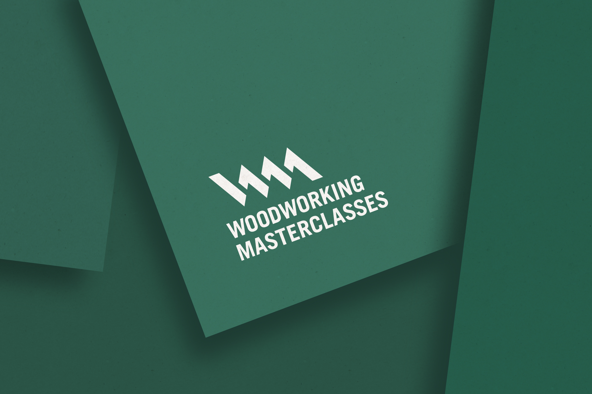 Close of up Woodworking Masterclasses logo
