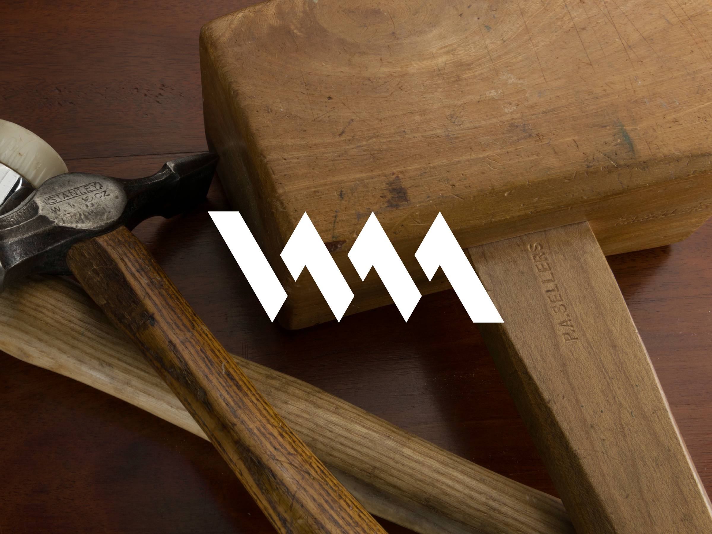 The Woodworking Masterclasses logo laid on top of an image
